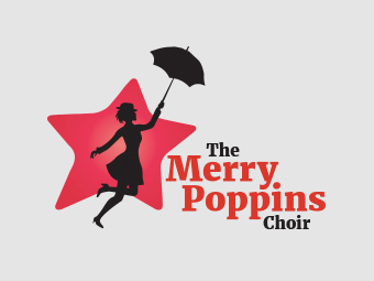 Merry Poppins Choir Logo